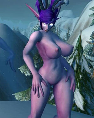 Night Elf Player